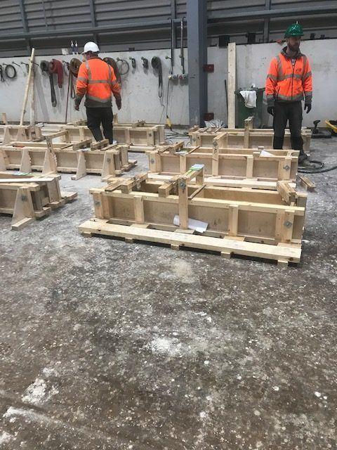 concrete trials taking place